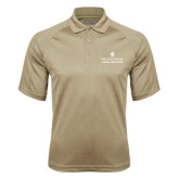 Vegas Gold Textured Saddle Shoulder Polo-Alumni Association Stacked