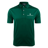 Dark Green Dry Mesh Polo-William and Mary