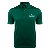Dark Green Dry Mesh Polo-Alumni Association Stacked