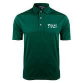 Dark Green Dry Mesh Polo-W&M Alumni