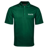 Dark Green Mini Stripe Polo-W&M