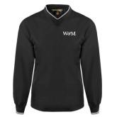 Black Executive Windshirt-W&M