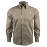 Red House Tan Long Sleeve Shirt-William and Mary