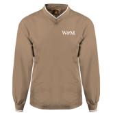 Khaki Executive Windshirt-W&M