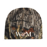 Mossy Oak Camo Fleece Beanie-W&M