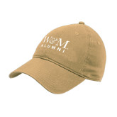 Vegas Gold Twill Unstructured Low Profile Hat-W&M Alumni