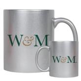 Full Color Silver Metallic Mug 11oz-W&M