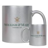 Full Color Silver Metallic Mug 11oz-Chartered Logo