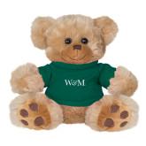 Plush Big Paw 8 1/2 inch Brown Bear w/Dark Green Shirt-W&M