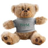Plush Big Paw 8 1/2 inch Brown Bear w/Grey Shirt-W&M