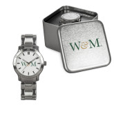 Ladies Stainless Steel Fashion Watch-W&M
