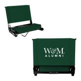 Stadium Chair Dark Green-W&M Alumni