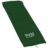 Dark Green Golf Towel-W&M Alumni