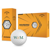 Callaway Warbird Golf Balls 12/pkg-W&M