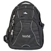 High Sierra Swerve Black Compu Backpack-W&M