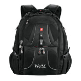 Wenger Swiss Army Mega Black Compu Backpack-W&M