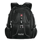 Wenger Swiss Army Mega Black Compu Backpack-W&M