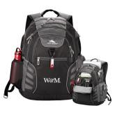 High Sierra Big Wig Black Compu Backpack-W&M