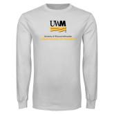 White Long Sleeve T Shirt-Lubar School