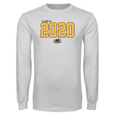 White Long Sleeve T Shirt-Class Of Personalized Year Jersey
