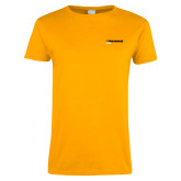 Ladies Gold T Shirt-UW Milwaukee