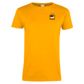 Ladies Gold T Shirt-Alumni Association