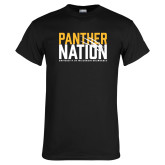 Black T Shirt-Panther Nation
