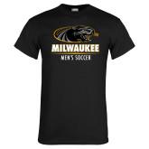 Black T Shirt-Mens Soccer