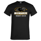 Black T Shirt-Womens Soccer