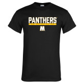 Black T Shirt-Soccer Bar Design