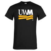 Black T Shirt-University Banner