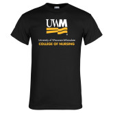 Black T Shirt-College of Nursing