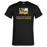 Black T Shirt-College of Nursing