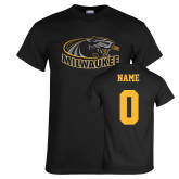 Black T Shirt-Official Logo, Custom Tee w/ Name and #