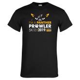 Black T Shirt-2019 Panther Prowl 5K