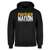 Black Fleece Hoodie-Panther Nation