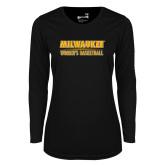 Ladies Syntrel Performance Black Longsleeve Shirt-Womens Basketball