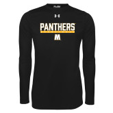 Under Armour Black Long Sleeve Tech Tee-Basketball Bar Design
