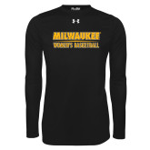 Under Armour Black Long Sleeve Tech Tee-Womens Basketball