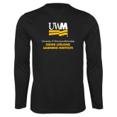 Performance Black Longsleeve Shirt-OSHER