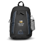 Impulse Black Backpack-Lubar School of Business Executive MBA