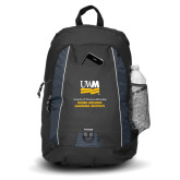 Impulse Black Backpack-OSHER