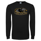 Black Long Sleeve T Shirt-Official Logo
