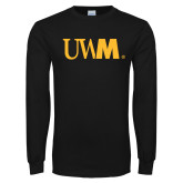 Black Long Sleeve T Shirt-UWM