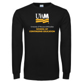 Black Long Sleeve T Shirt-Continuing Education