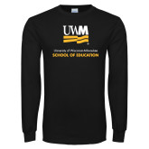 Black Long Sleeve T Shirt-School of Education