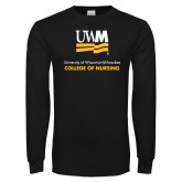 Black Long Sleeve T Shirt-College of Nursing