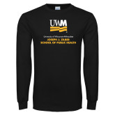 Black Long Sleeve T Shirt-Joseph J Ziber