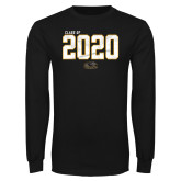 Black Long Sleeve T Shirt-Class Of Personalized Year Jersey