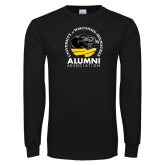 Black Long Sleeve T Shirt-Alumni Association